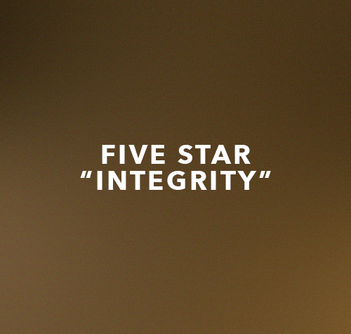 Five Star- Integrity