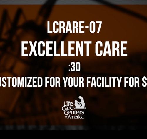 Excellent Care