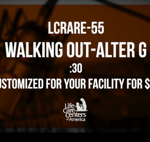 Walking Out- AlterG