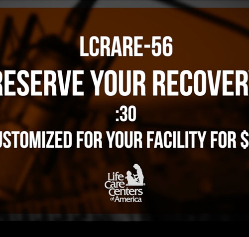 Reserve Your Recovery