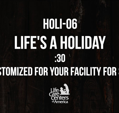 Life's a Holiday